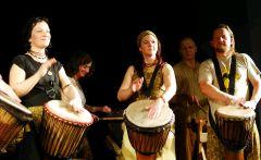 Koncert skupiny GRI-GRI – africké rytmy