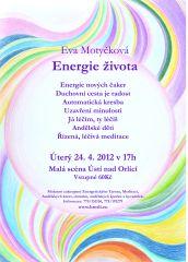 Eva Motyčková - Energie života