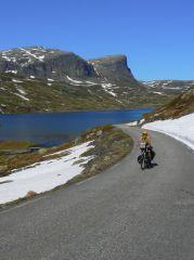 Na kole na Nordkapp