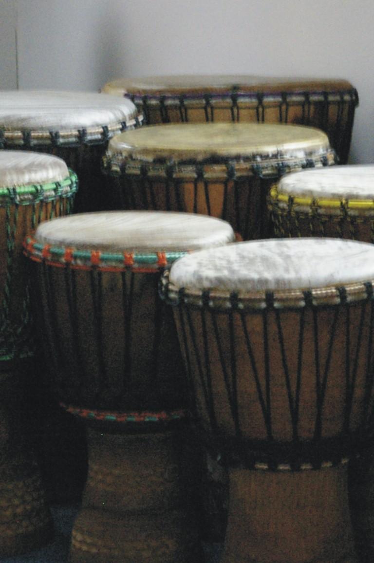 Bubnování v kruhu