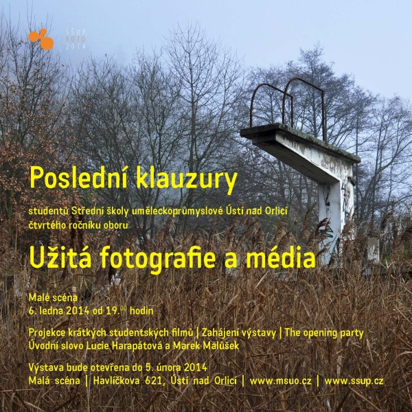 Výstava oboru Užitá fotografie a média