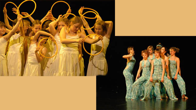 Taneční oddělení ZUŠ