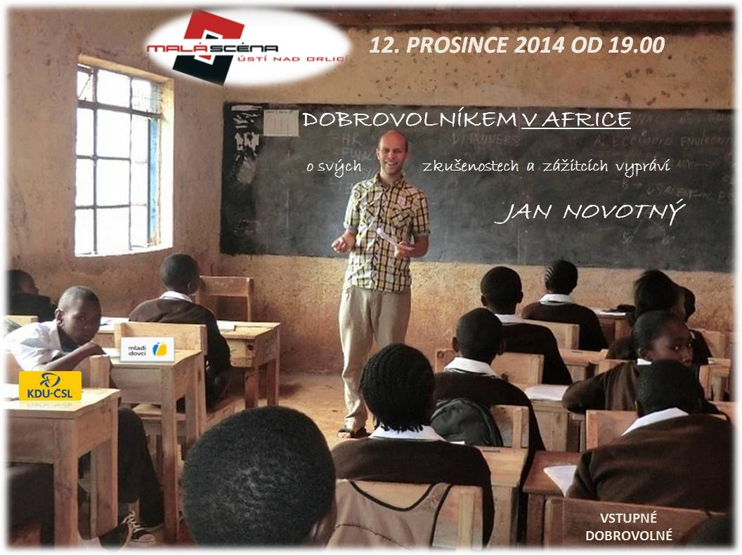 Dobrovolníkem v Africe