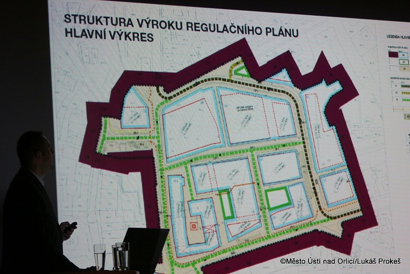Revitalizace území Perla 01 v Ústí nad Orlicí
