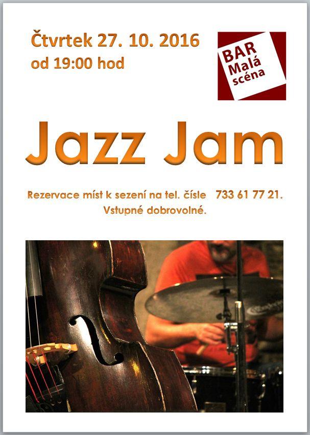 Jazz Jam v Baru Malá scéna