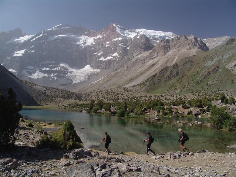Fanské hory – Tádžikistán