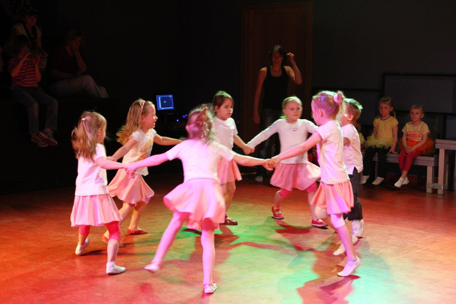 Tancovánky pro nejmenší