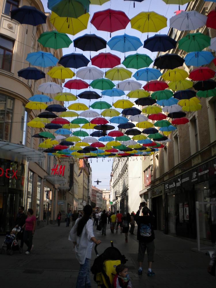 Deštníky, deštníčky a slunečníky