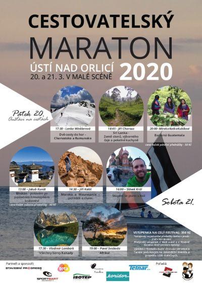Cestovatelský maraton Ústí nad Orlicí 2020