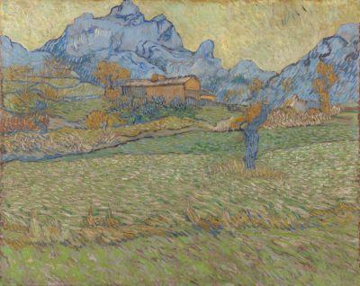 Van Gogh – o obilných polích a oblačném nebi
